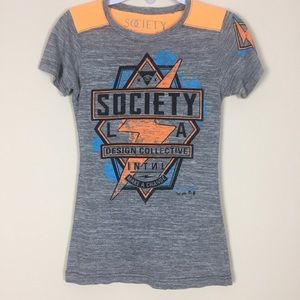 Society Tee Shirt Size Small Women's